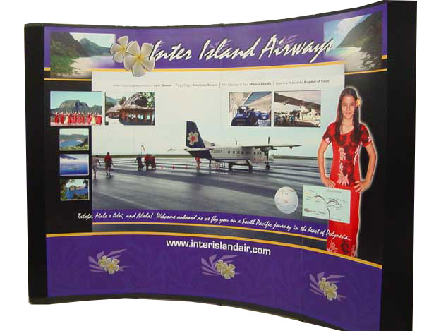 Pannel Trade show booth