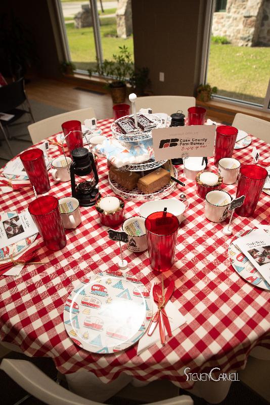 """$1000 Sponsor Cass County Farm Bureau """"Let's Go Camping"""""""