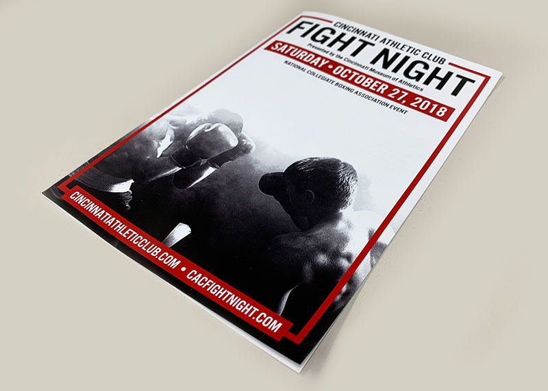 Fight Night Program Cover