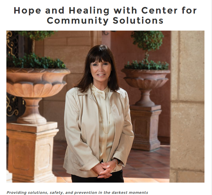 Hope and Healing featuring CEO Verna Griffin-Tabor