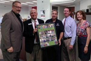"CSISD Education Foundation thanks BB&T for their ""Teacher of the Month"" program"