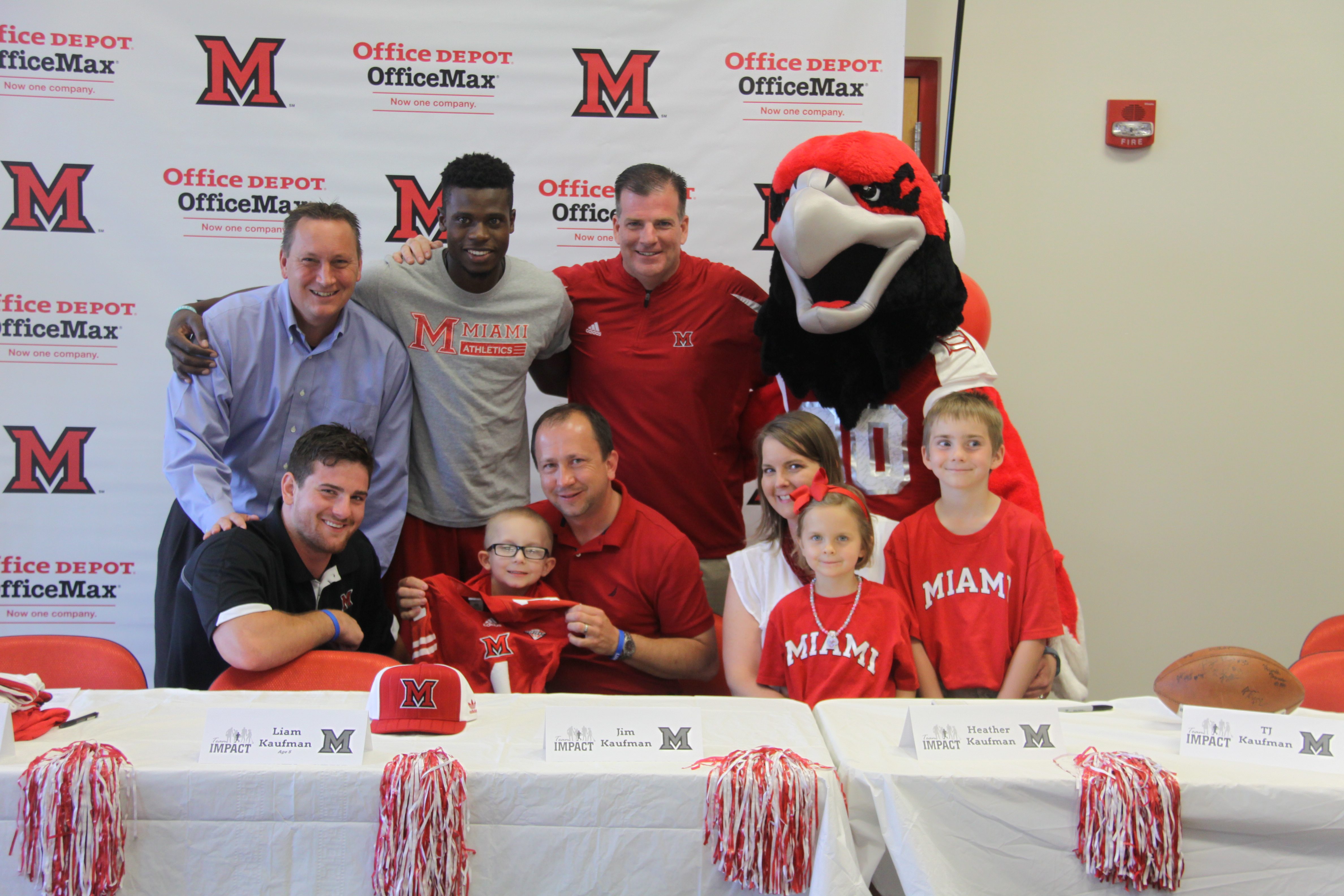 5-year-old Kaufman begins college football career with Miami