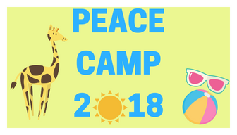 Peace Camp is right around the corner
