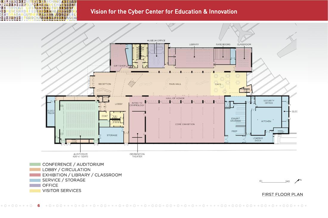 CCEI First Floor Plan