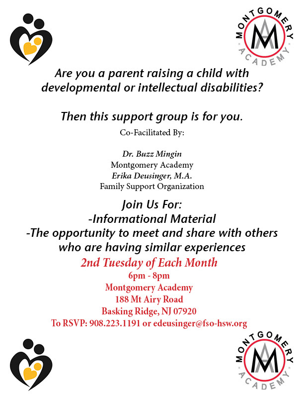 Parent Support Group (Basking Ridge)