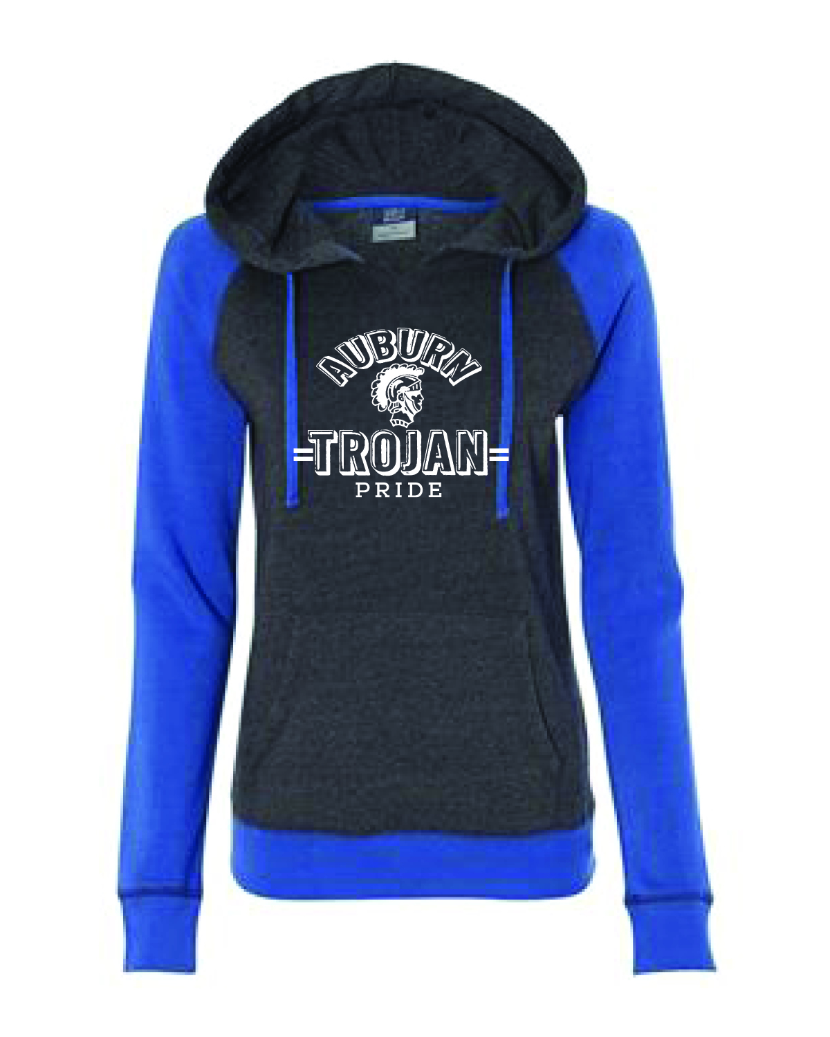 Raglan Hooded Sweatshirt (WOMENS)