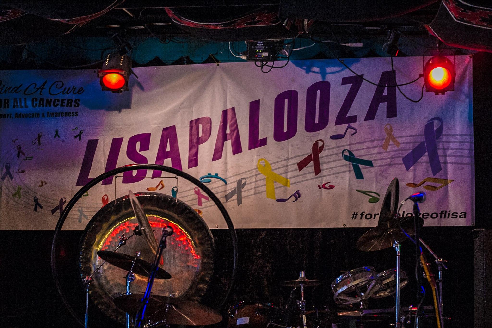 Lisapalooza banner