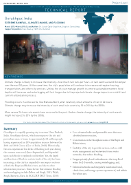 Gorakhpur: Extreme Rainfall, Climate Change, and Flooding (Technical Report)