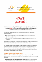 6.25.15 Action Alert: Budget FY16 to the Governor (Closed - No Longer Requires Action)