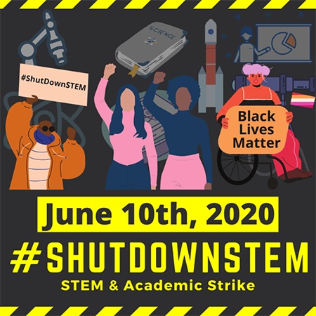 ASP in support of #ShutDownSTEM on June 10