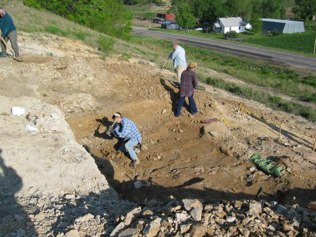 Site prep continued