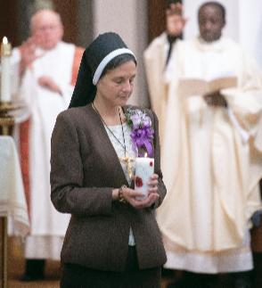 Felician Sister Regina's Vows