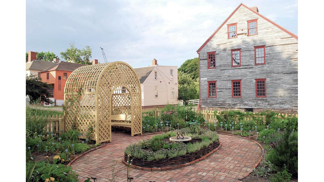 Strawbery Banke Herb Garden 1