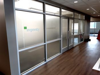 Indoor Frosted Vinyl for Privacy