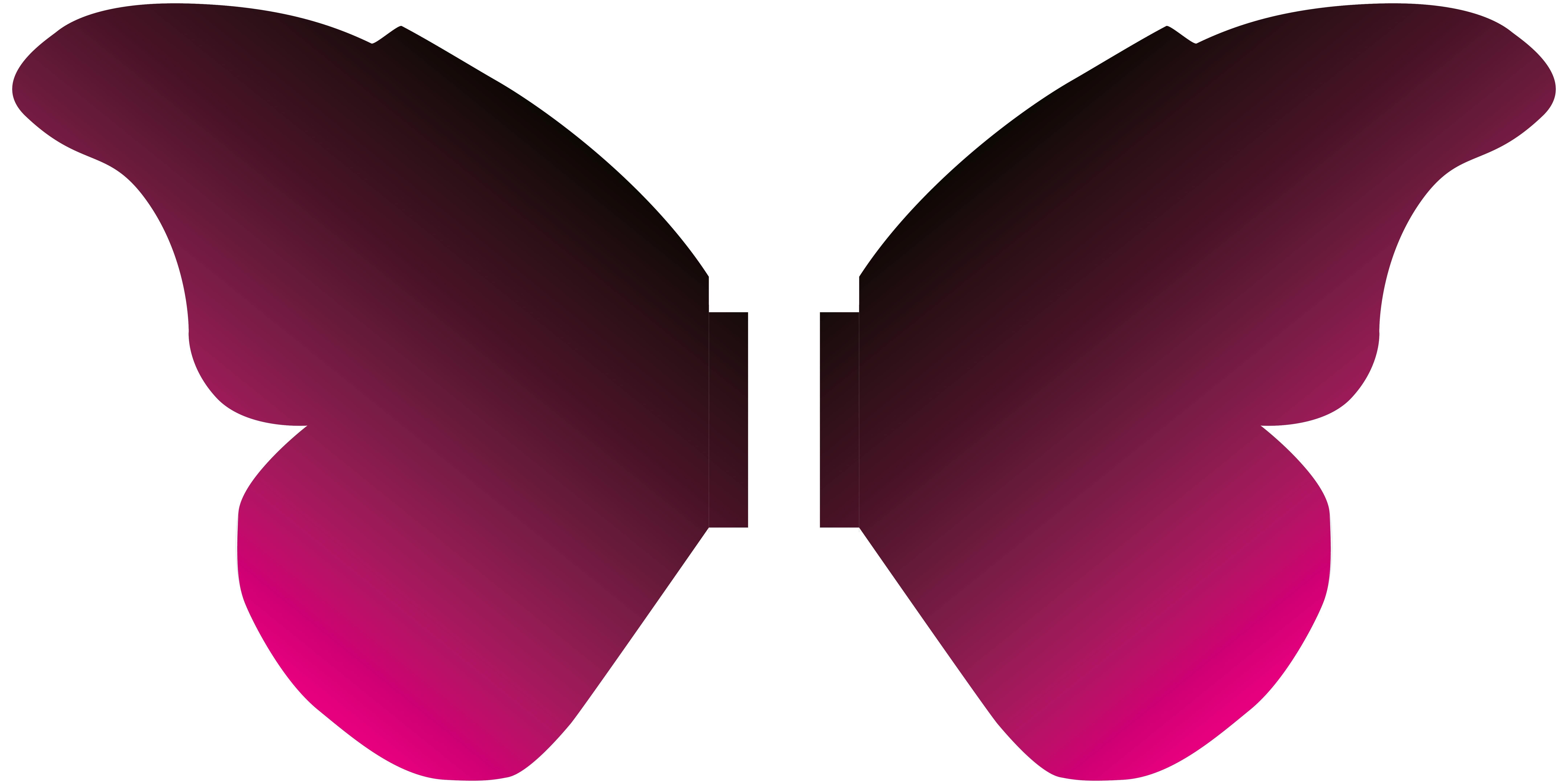 5' Butterfly Wings