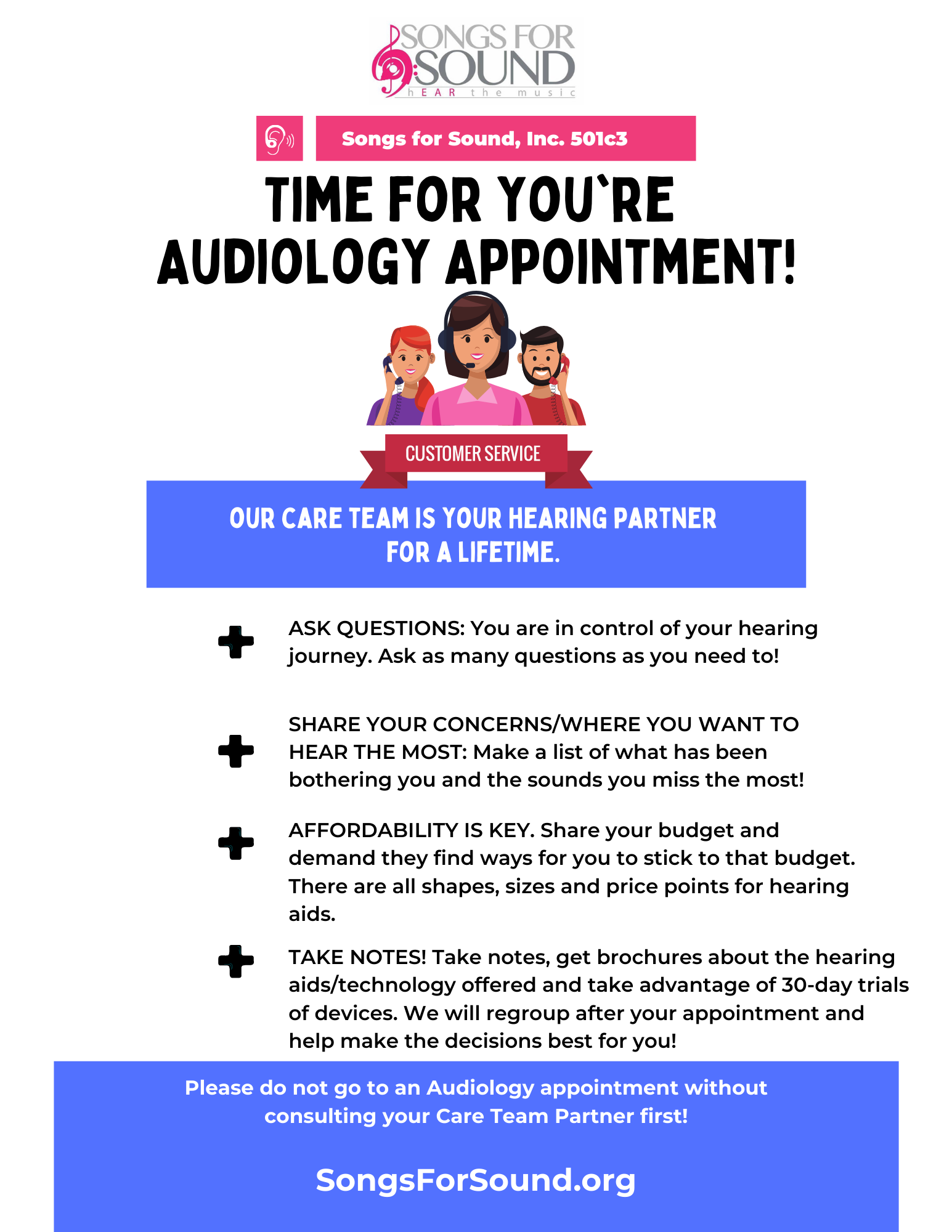 Time for Your Audiology Appointment
