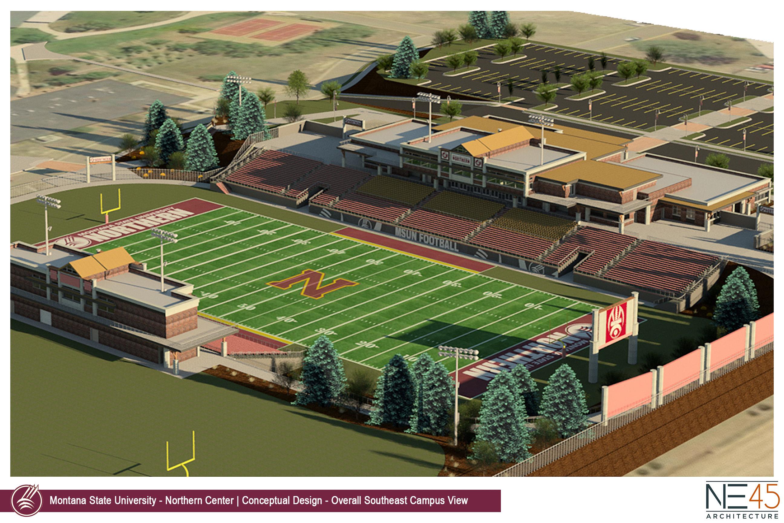 The MSU-Northern Stadium