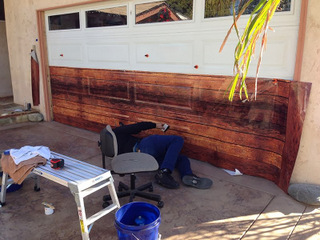 How to install a garage door wrap in orange county for Garage wraps