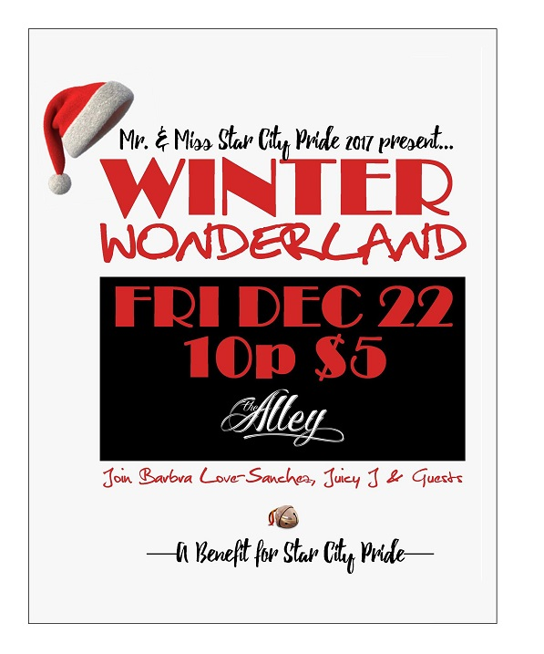 Winter Wonderland - Presented by Mr & Miss Star City Pride