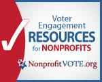 Nonprofit VOTE logo