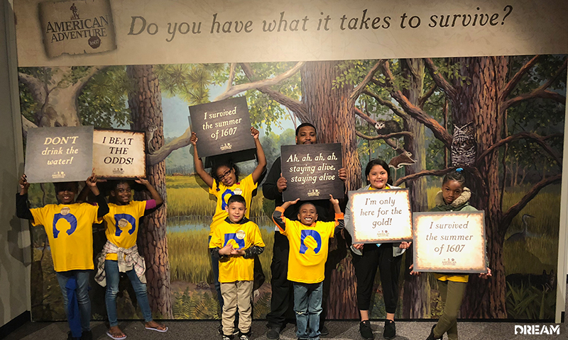 Central Park After-School Program Visits Durham Exhibit