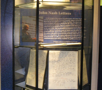 """An Inquisitive Mind: John Nash Letters"" Exhibit"