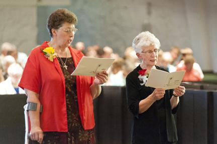 Congratulations 50 Year Jubilarians - Sister Barbara Weber and Sister Janet Zander