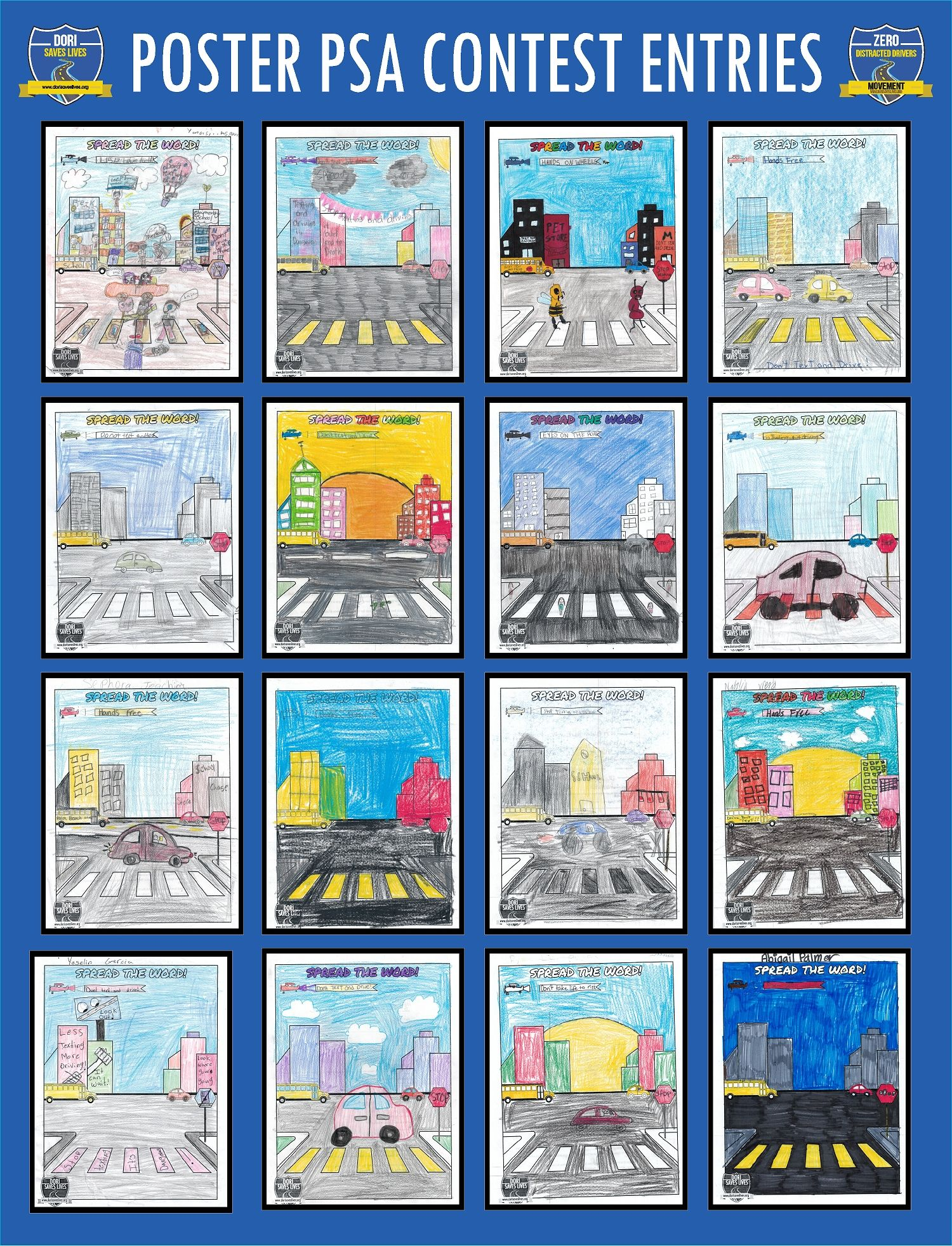 Poster PSA Entries 17-32