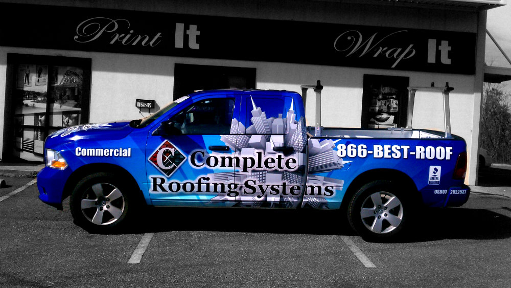 Complete Roofing     Driver Side