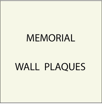 N23500 - Memorial Wall Plaques