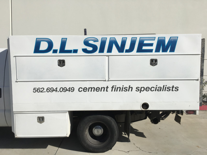 Truck Bed Lettering