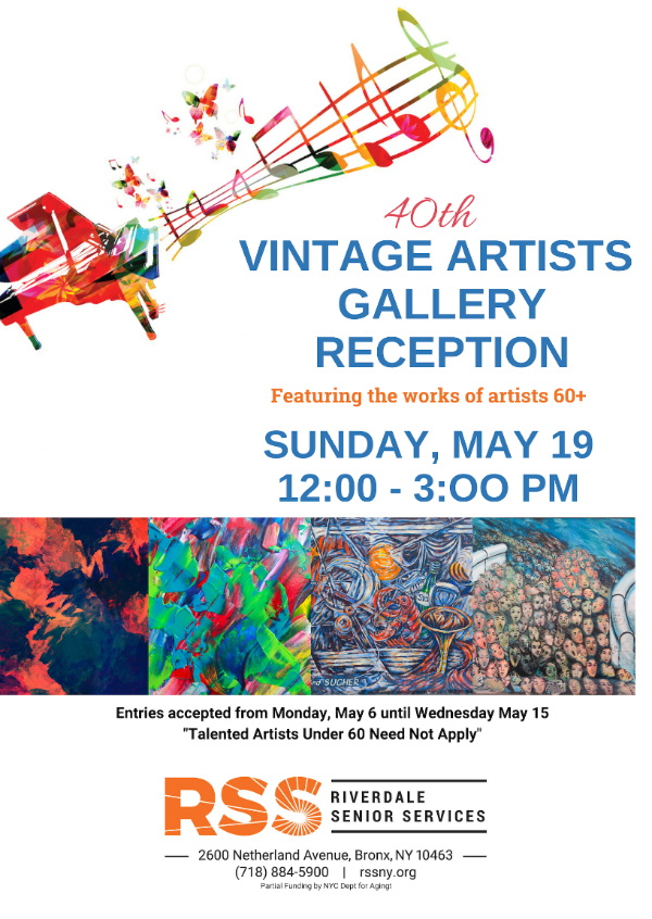 40th Vintage Gallery May 19th - LEARN MORE!