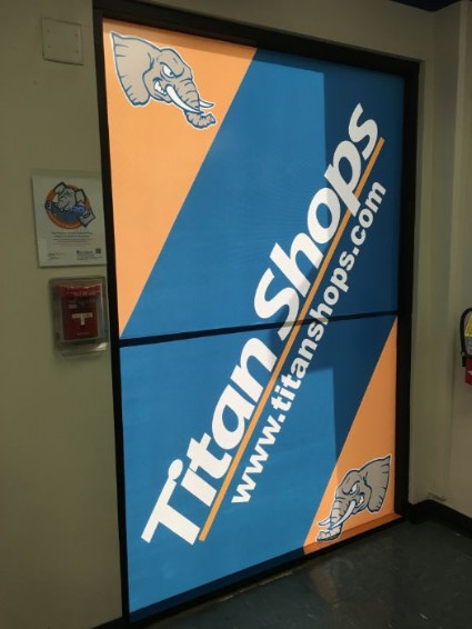 Window graphics for retailers in Orange County CA