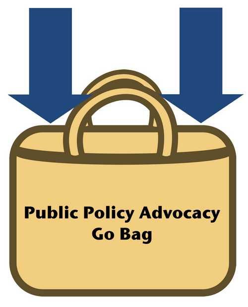 Public Policy Advocacy Go Bag
