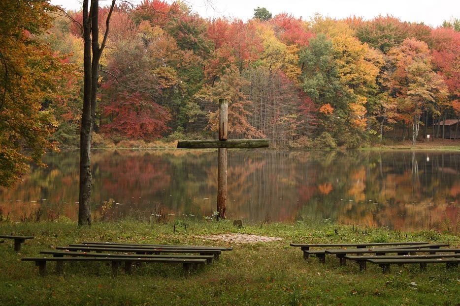 Lakeside Chapel Fall