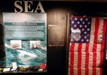 Service and Sacrifice Exhibit - USS Liberty