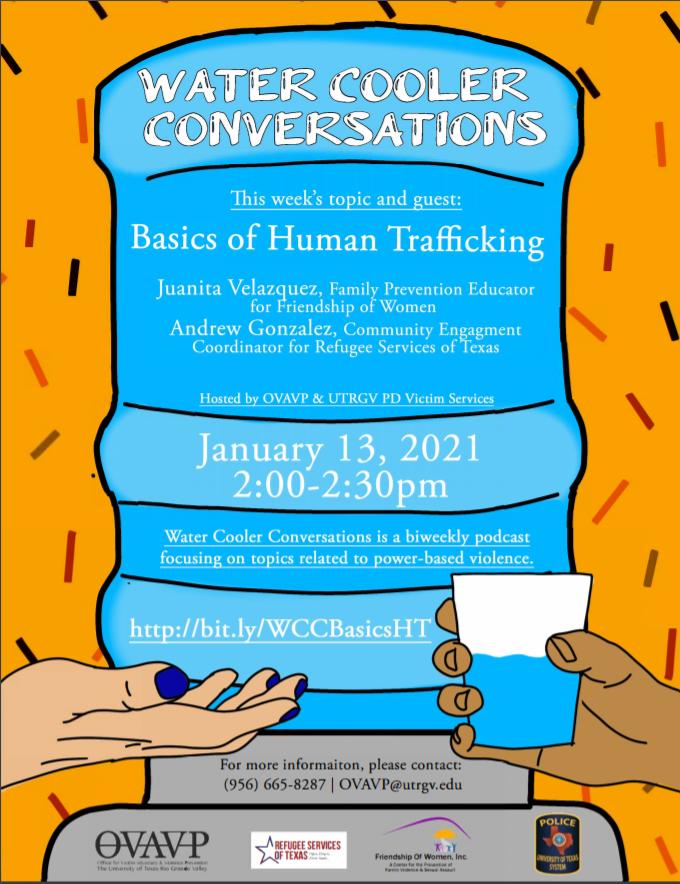 Water Cooler Conversations: Basics of Human Trafficking