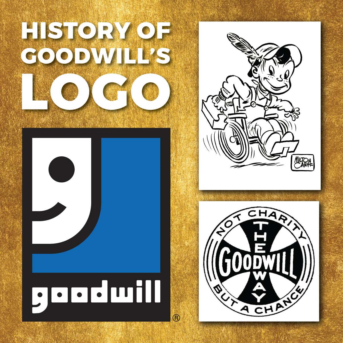 The History of Goodwill's Logo