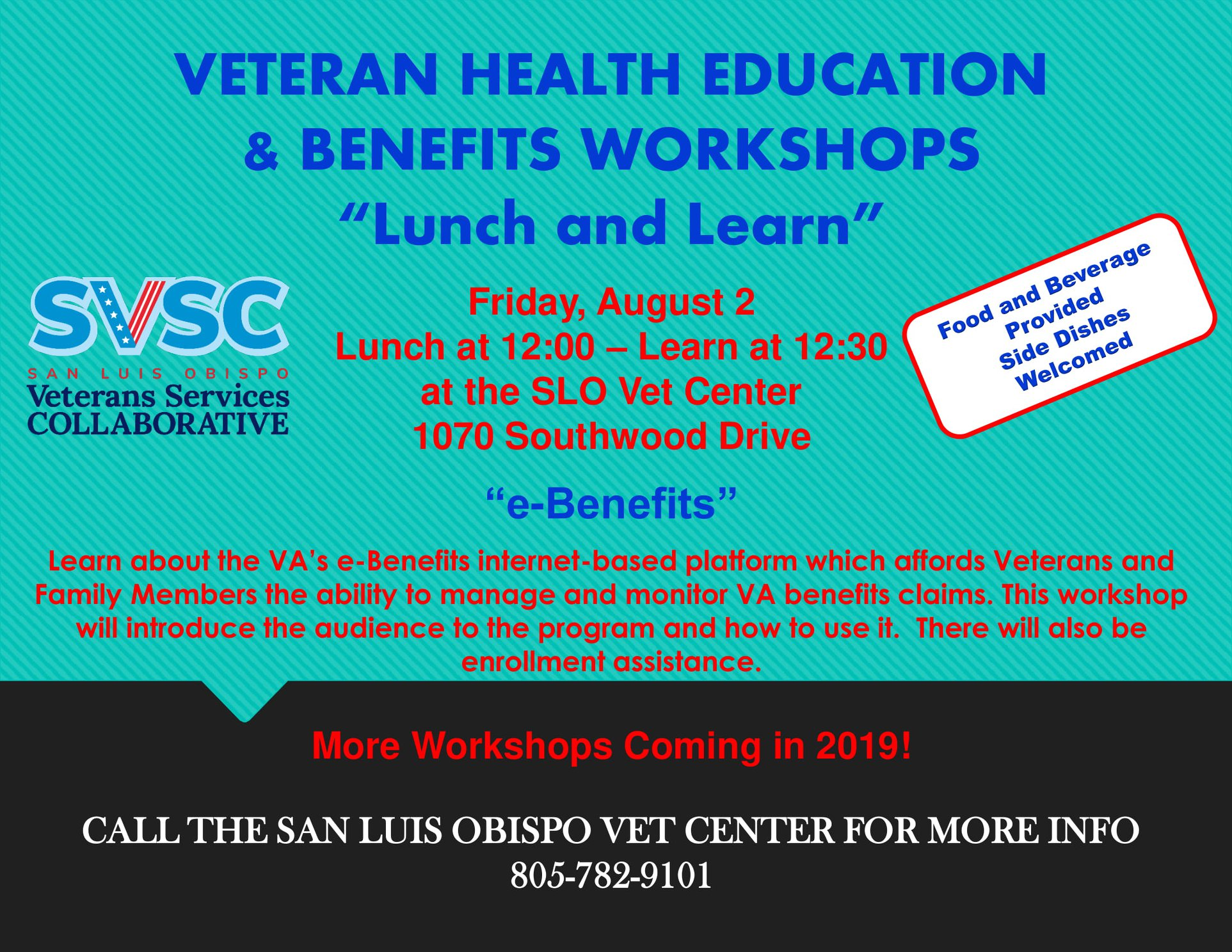 Veteran Health Education & Benefits Workshop