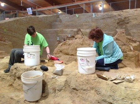 The Mammoth Site Excavation and Preservation Program
