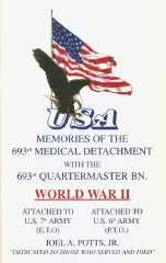 Memories of the 693rd Quartermaster Bn. World War II