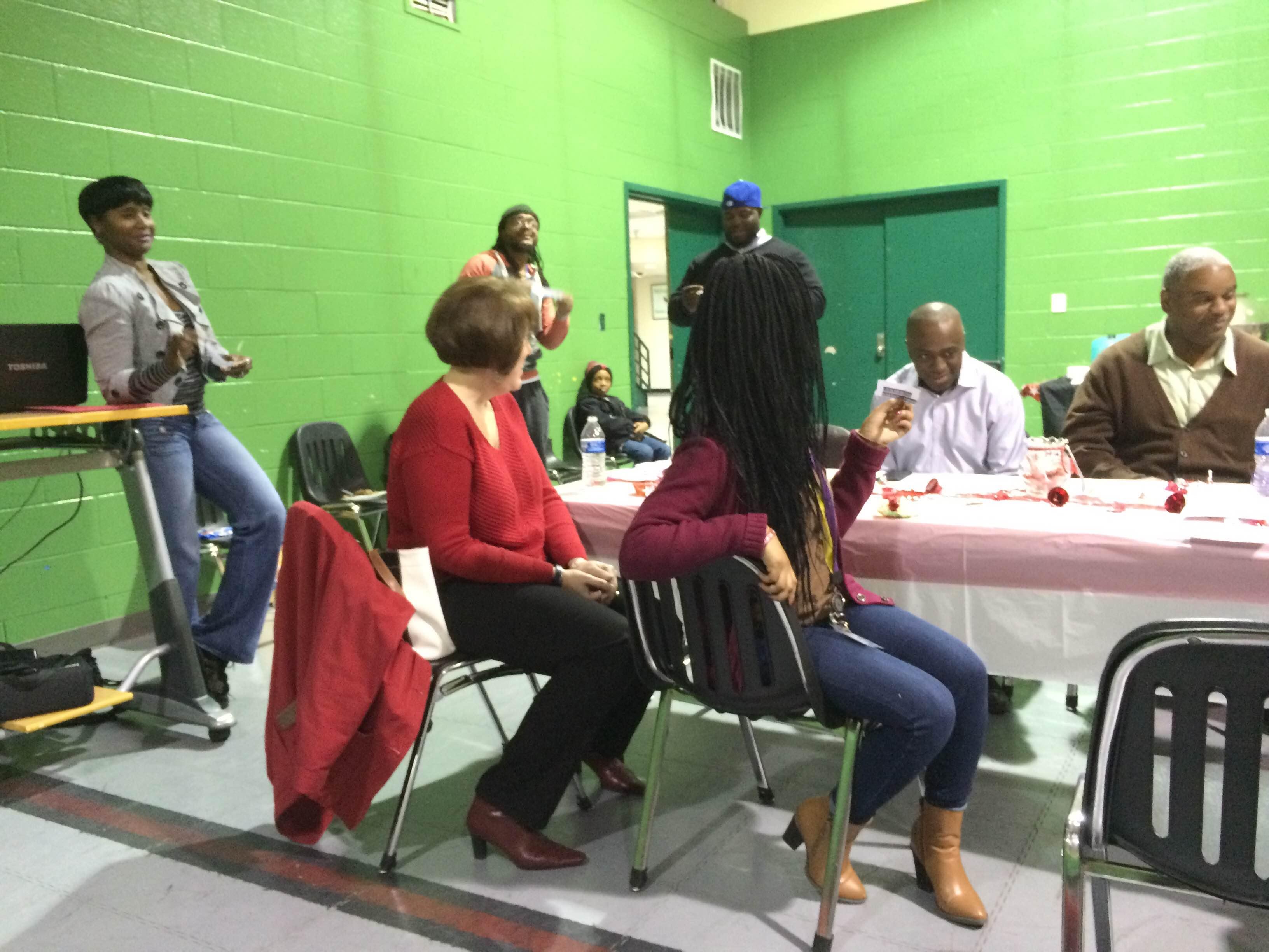 Niles Board, Staff and Volunteers Enjoy Holiday Fun Together