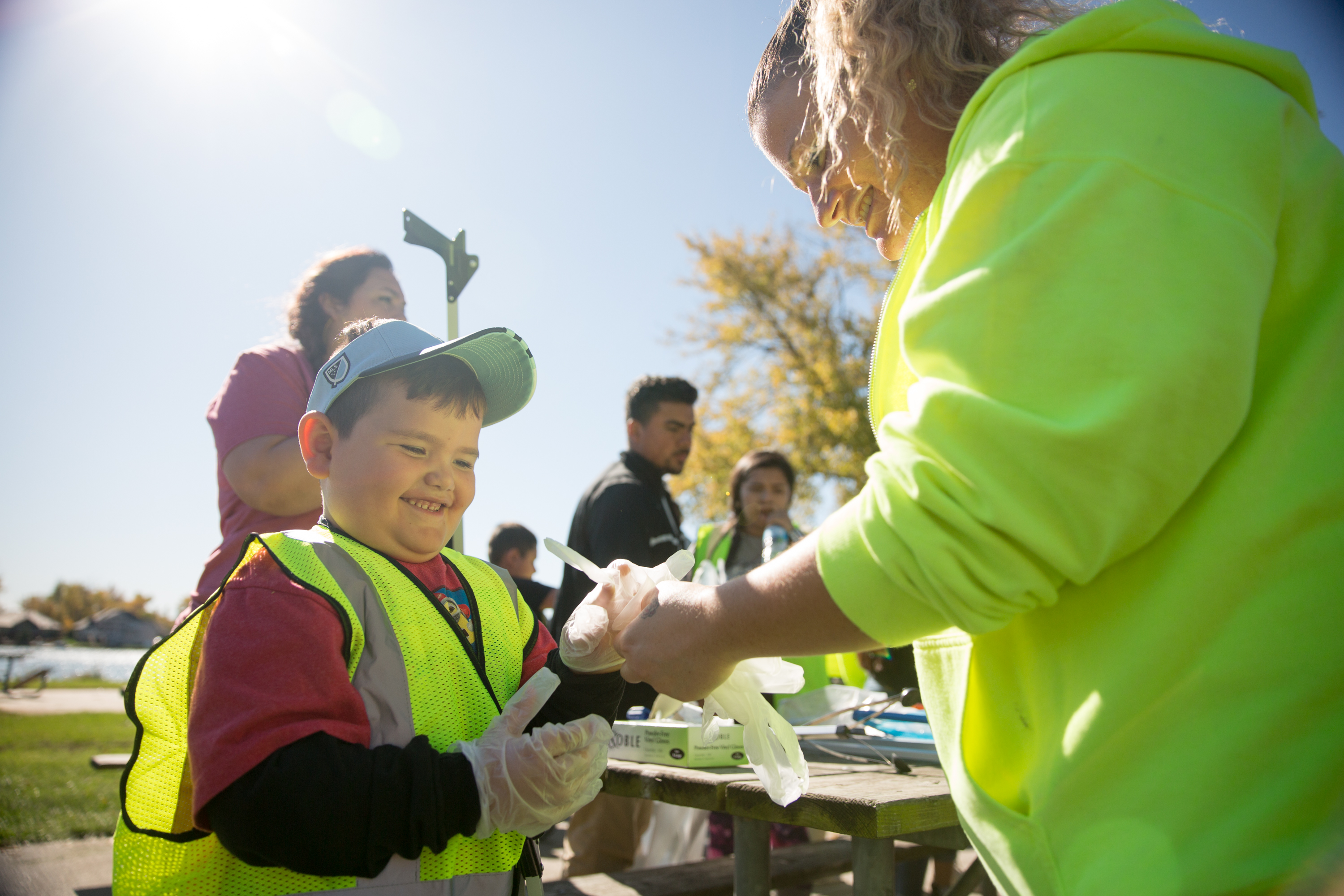 Youth Fall Cleanup