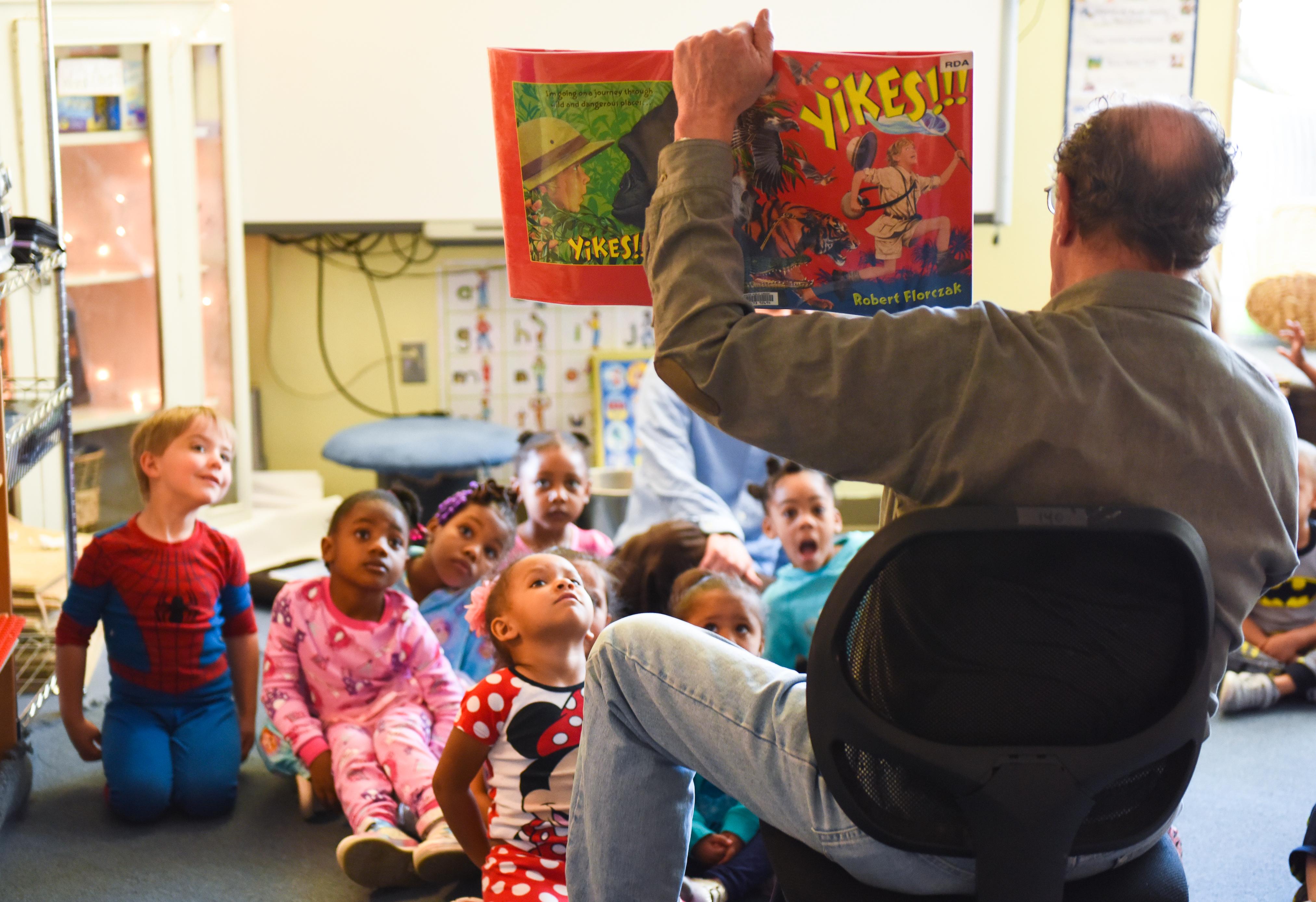 Denver Public Library volunteer reader