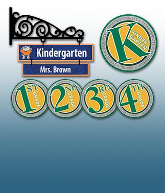 Room / Teacher / Grade Level Signs