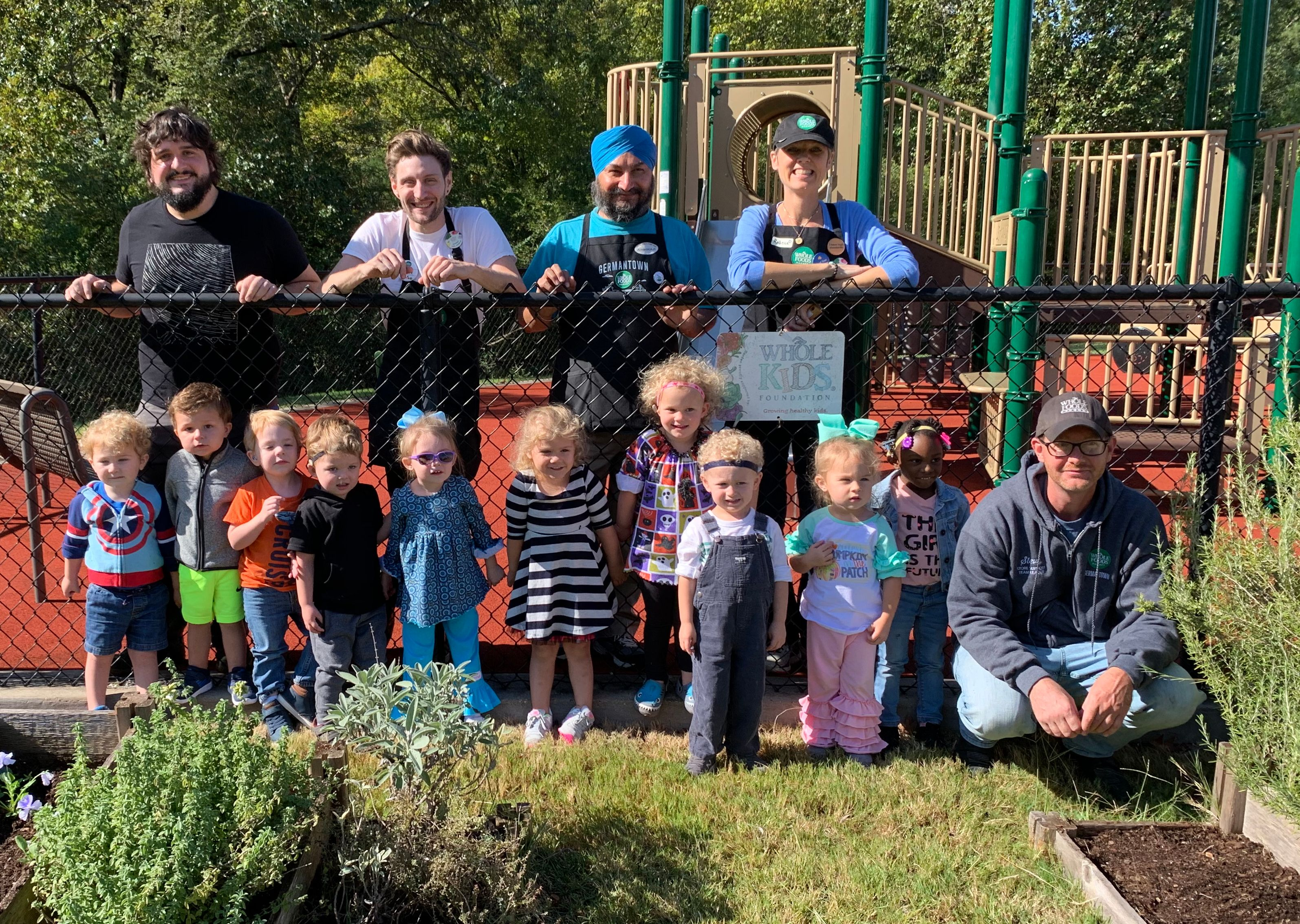 Whole Foods Helps MOSD Plant Our Fall Garden
