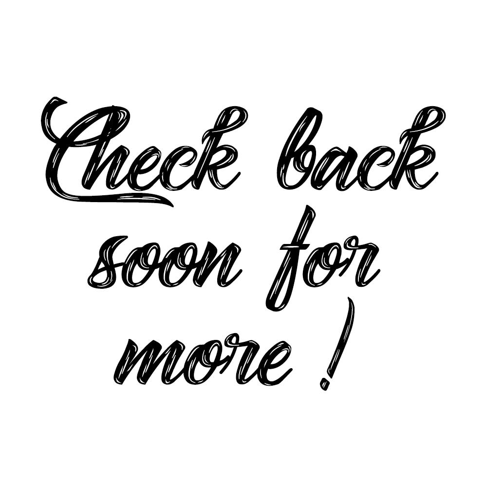 Check Back Often