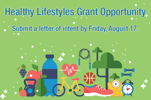 Now Accepting Healthy Lifestyles Grant Applications
