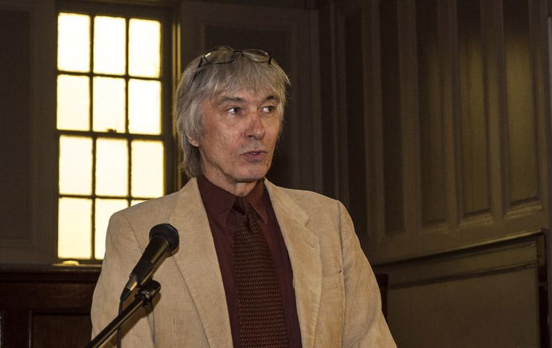 Teaching writer Tony Crunk