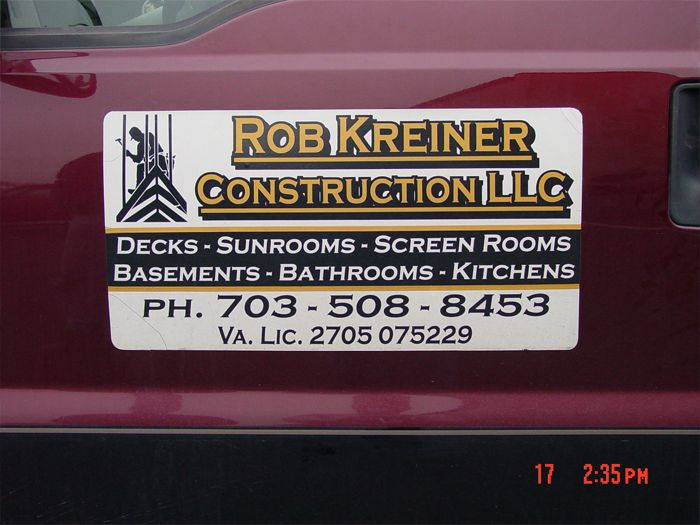 Rob Kreiner Car Magnetic